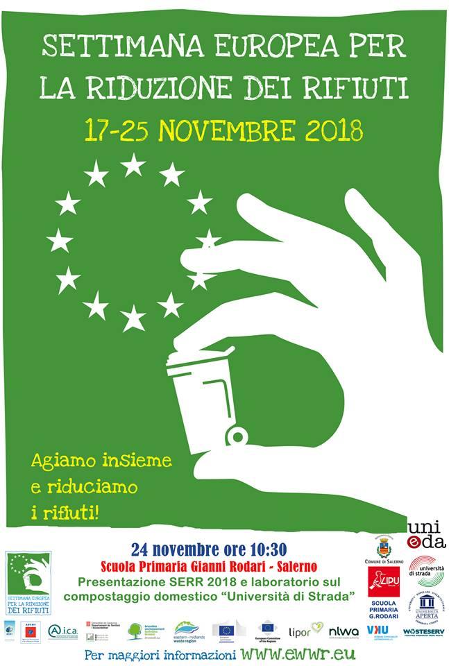 Settimana europea per la riduzione dei rifiuti e Laboratorio sul compostaggio domestico @ Scuola G. Rodari