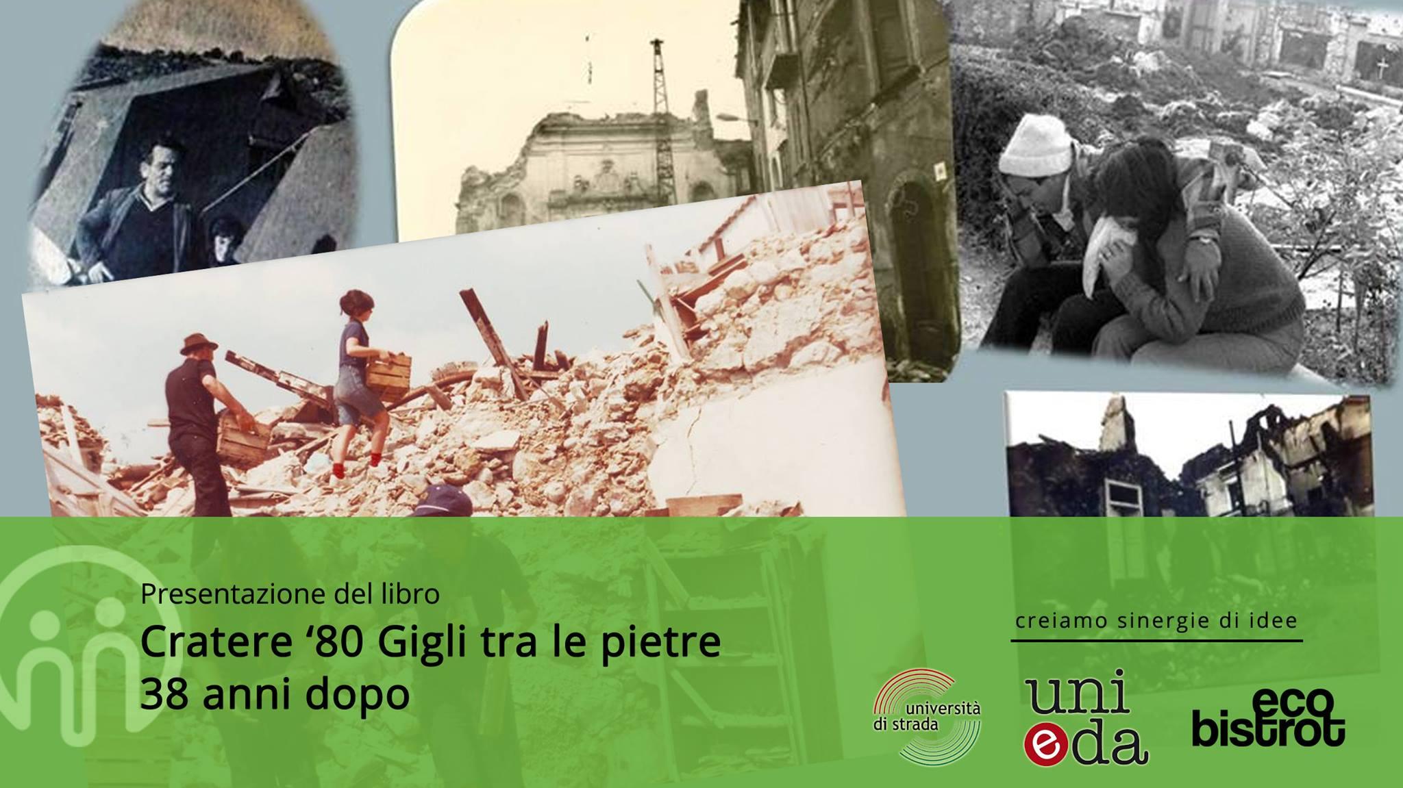 """Laboratorio della memoria: Presentazione del libro """"Cratere '80. Gigli tra le pietre"""" @ Eco Bistrot Salerno"""